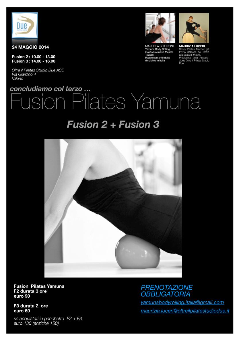 Volantino Fusion 2 e Fusion 3