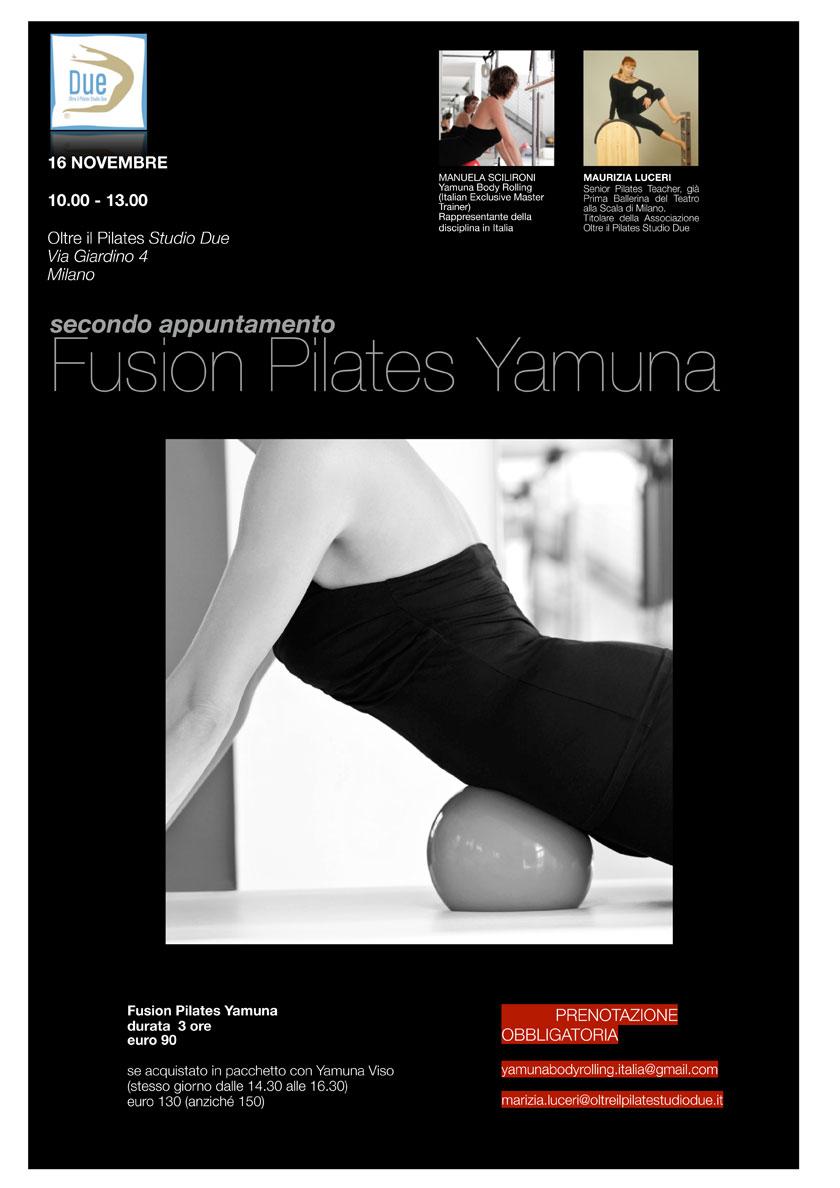 Volantino Fusion Pilates Yamuna