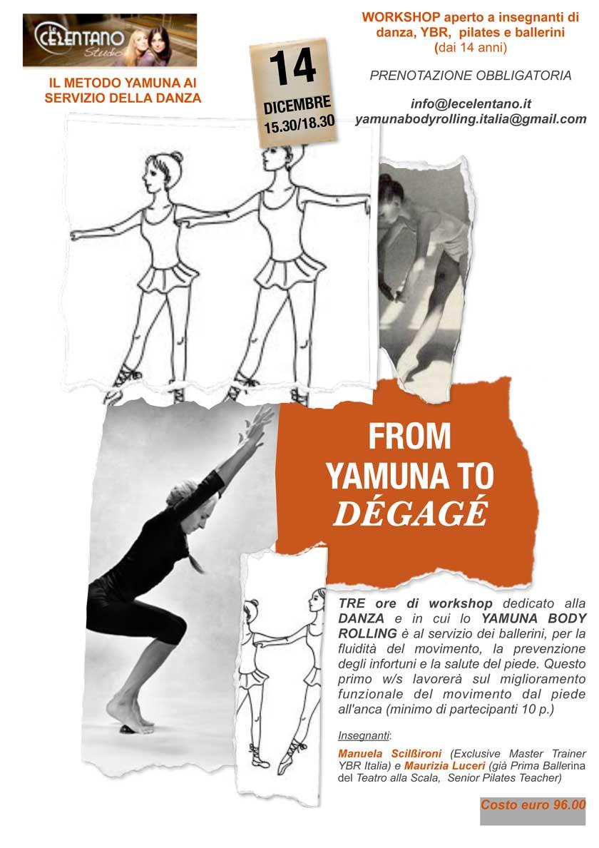 Yamuna per la danza Studio Le Celentano