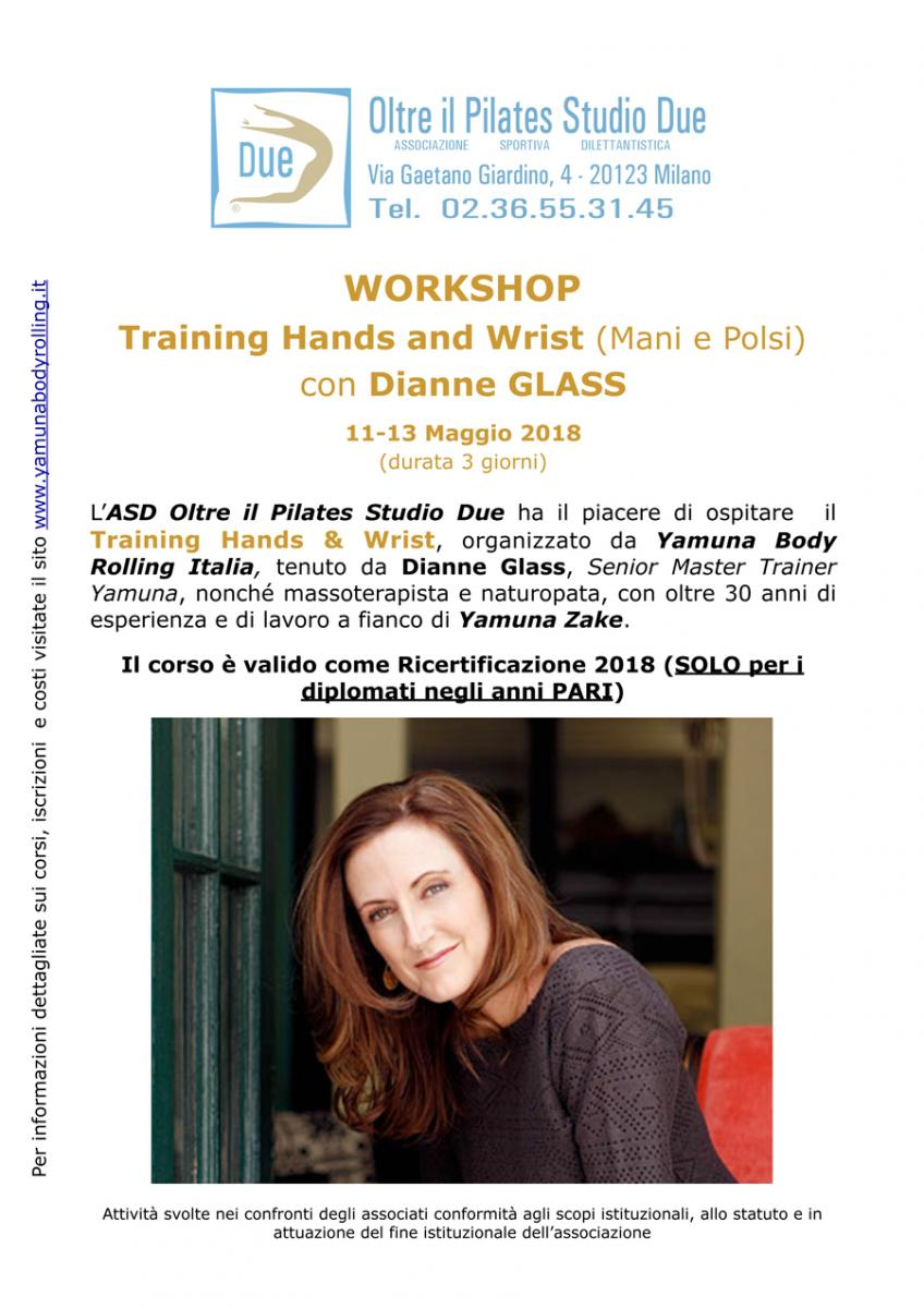 Dianne Glass - Workshop Training Hands and wrist