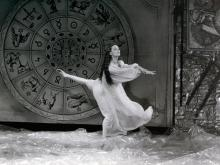 Maurizia Luceri in scena